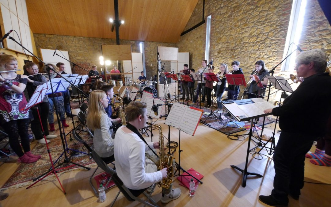 AFS BIG BAND produziert neue CD im professionellen WATT MATTERS STUDIO in Bielefeld