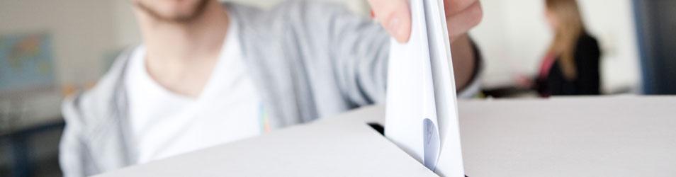 Schülerinnen und Schüler wählen – Juniorwahl 2017