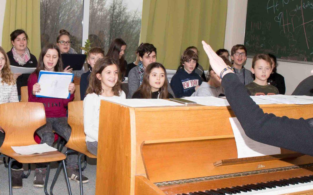 Young Voices: Chorprobe im Teutoburger Wald
