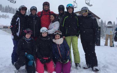 Skifahrt nach Savognin