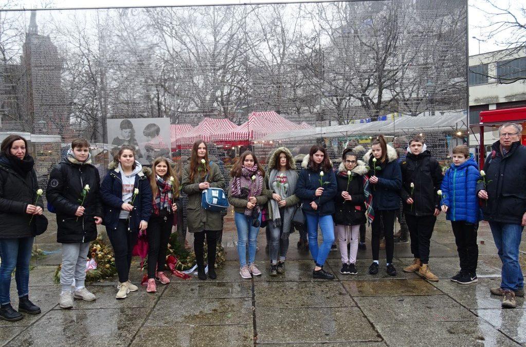Studienfahrt der Anne-Frank-AG nach Berlin