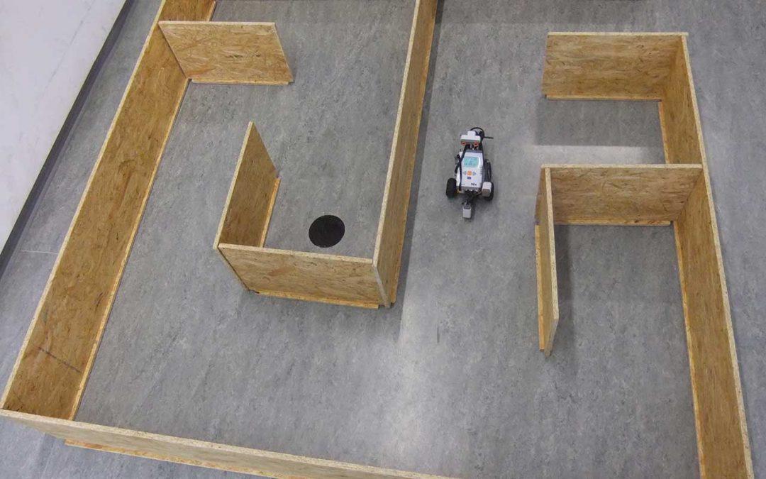 Vier Kugeln Eis für den schnellsten Roboter-Smiley