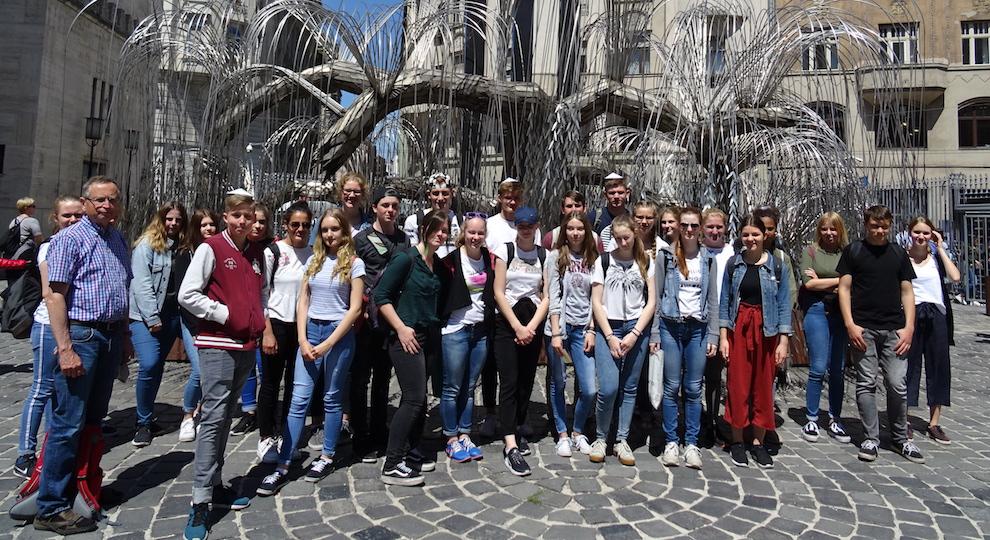 Fahrt der Anne-Frank-AG II nach Budapest