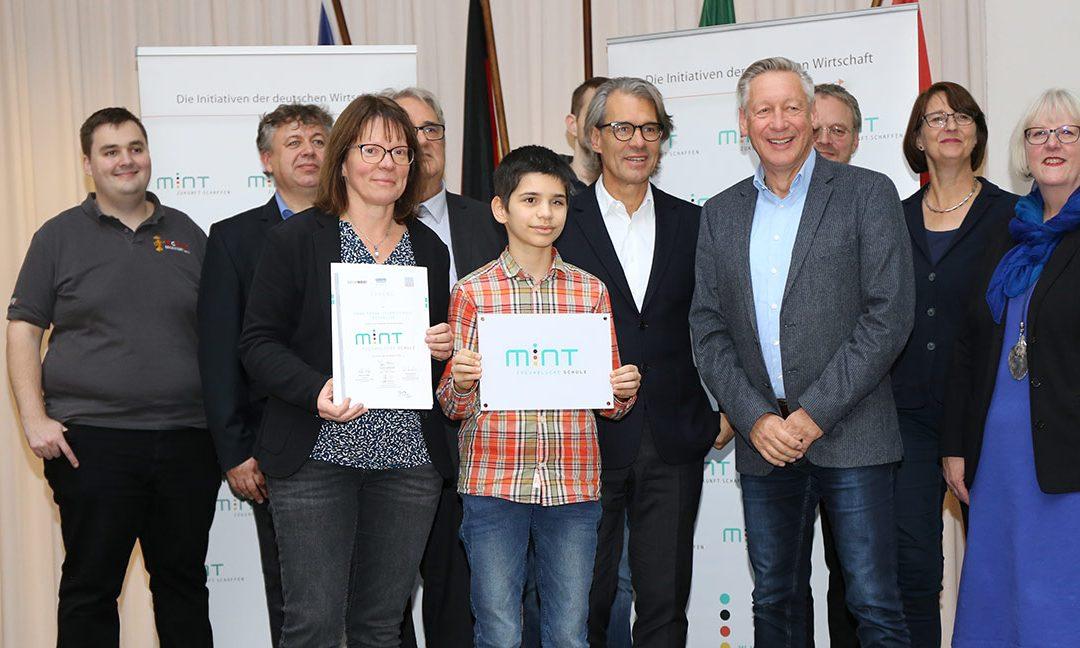 Anne-Frank-Gesamtschule als MINT-freundliche Schule ausgezeichnet