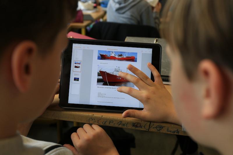 Tablet-Einsatz im MINT-Unterricht