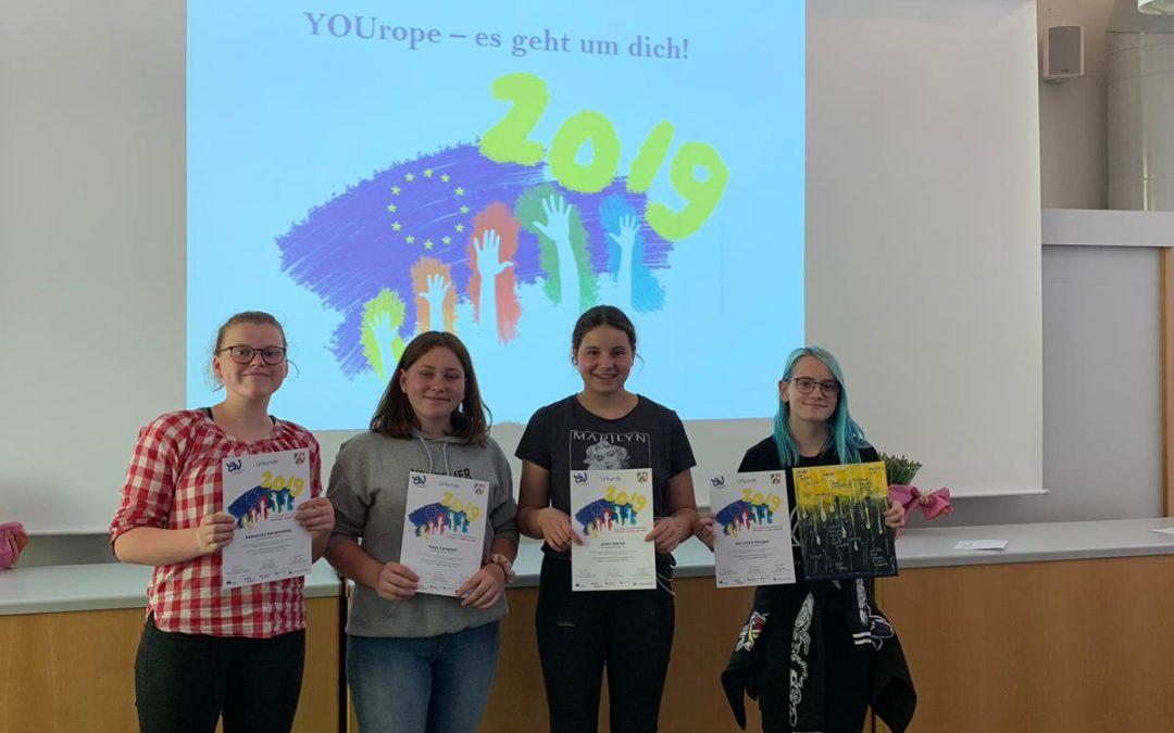 Erfolgreiche Teilnahme am Europäischen Wettbewerb