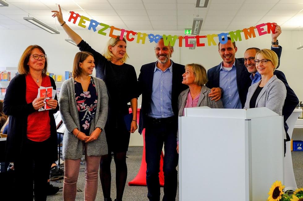Amtseinführung unseres neuen Schulleiters Jan Rüter