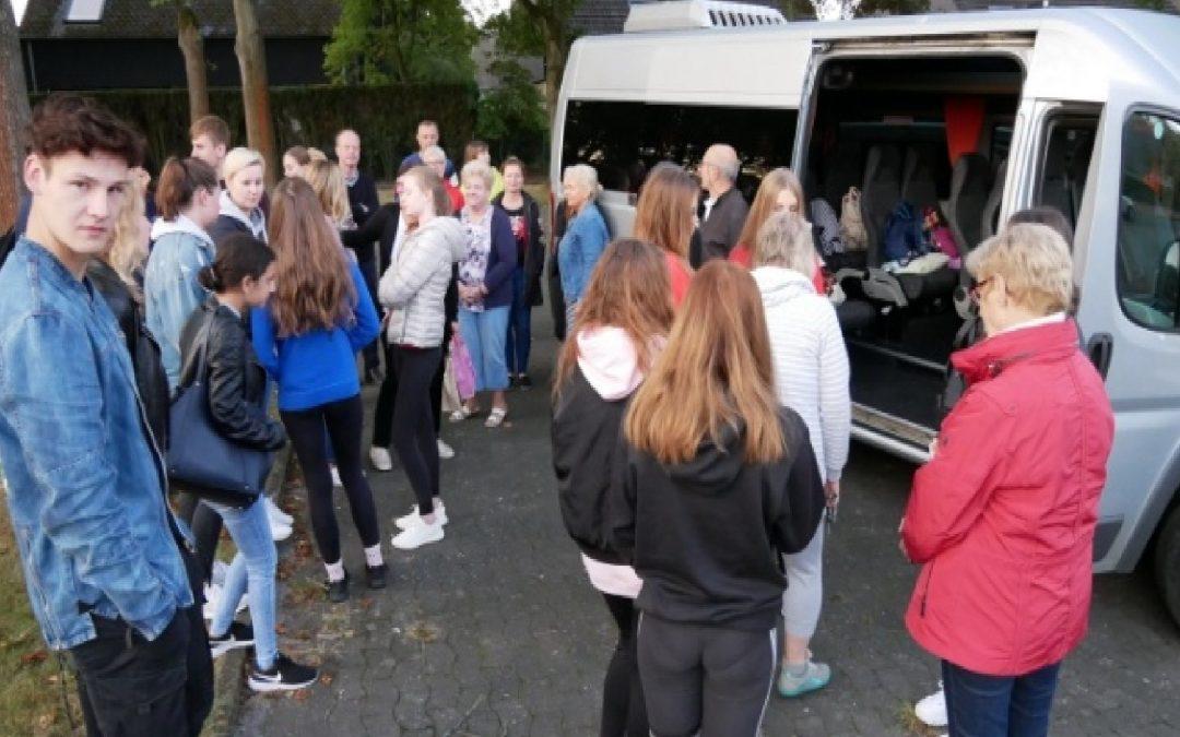 Besuch der polnischen Austauschschüler im schönen Gütersloh (09.09.19-14.09.19)