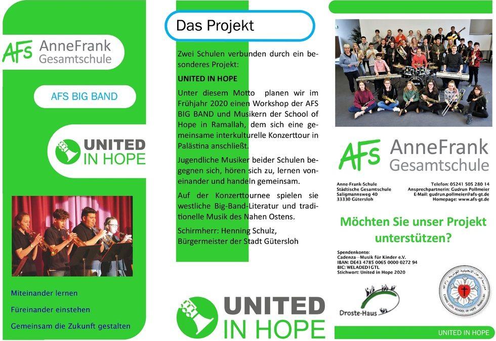 United In Hope – AFS BIG BAND