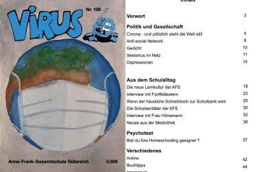 """Die neue Ausgabe der """"Virus"""" ist online!"""