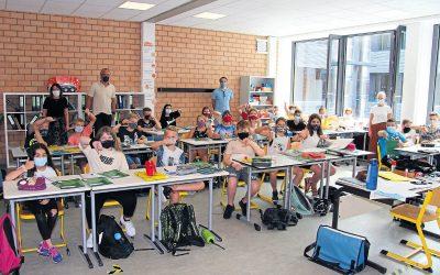 Kein Vergnügen, aber nötig – Schulstart mit Mund-Nasen-Schutz-Maske (Westfalenblatt, 13.08.2020)