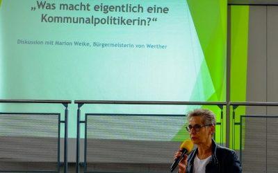 Was macht eigentlich eine Kommunalpolitikerin? Fragen an Marion Weike, Bürgermeisterin von Werther