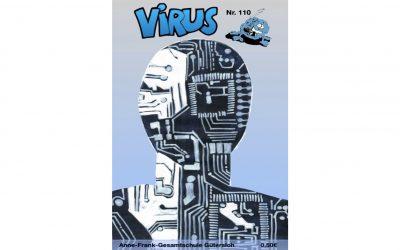 """Die neue Printausgabe der Schülerzeitung """"Virus"""" erscheint in der Woche vor den Ferien"""