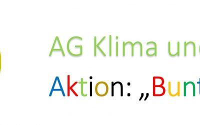 """AG Klima und Umwelt – Aktion: """"Buntes Band"""""""